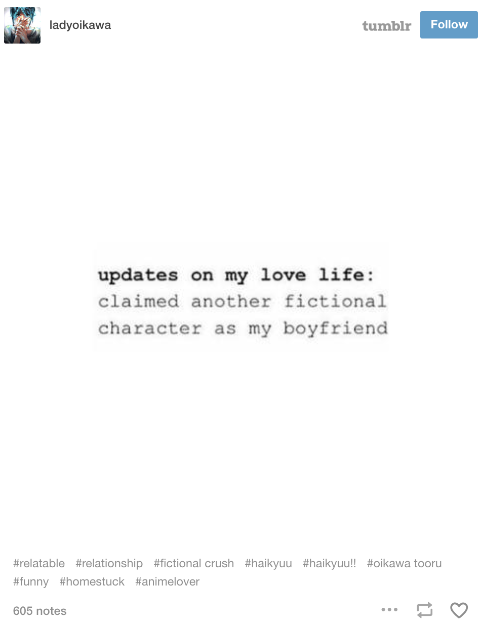33 Tumblr Posts For Anyone Who Loves Fictional Characters More Than Real People Book Memes Book Humor Book Fandoms