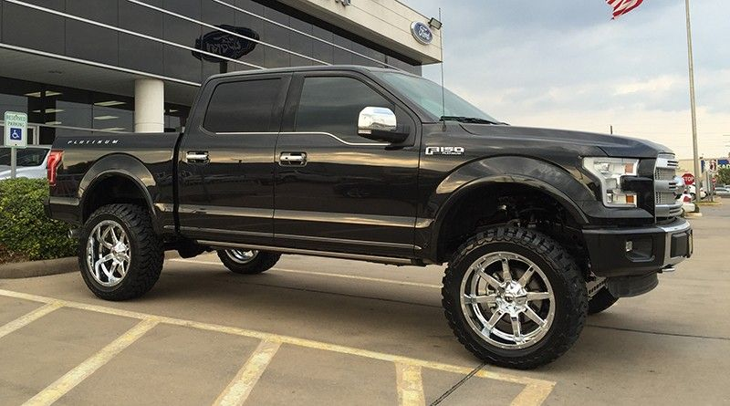 lifted 2015 ford f150 with readylift 7 lift kit. Black Bedroom Furniture Sets. Home Design Ideas