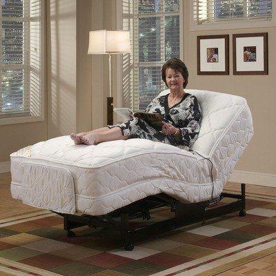 Economy Full Size Adjustable Bed By Medlift 793 99 Efa Mattress