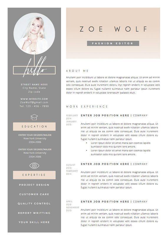 11 Dazzling Creative Resume Templates … | Pinteres…
