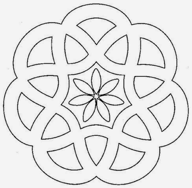 Mandalas Para Pintar Mandalas Para Imprimir Mandala Sencilla