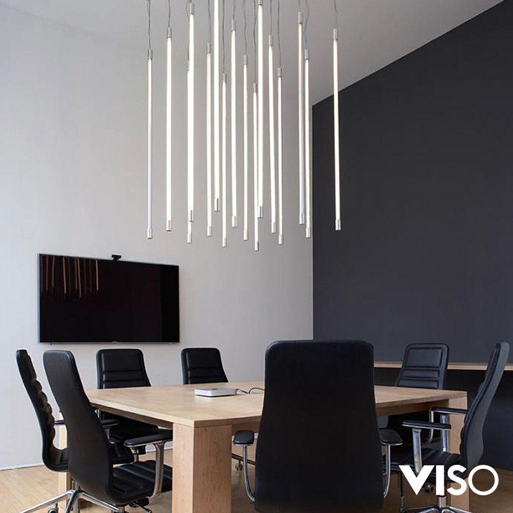 Viso Thin Vertical Pendant Light Light Decorations