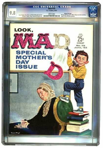 MAD Issue #79 June, 1963