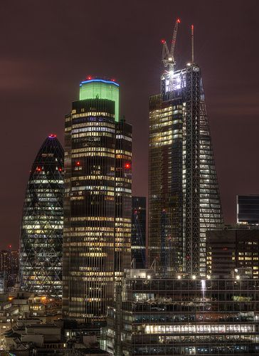 So Many Nights London, The Gherkin, Tower 42 and 122 Leadenhall St.