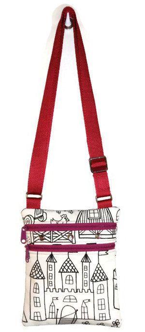 bcf58b1418d8 Color Me Bag - Coloring Bag - Little Bag - Small Messenger Bag ...