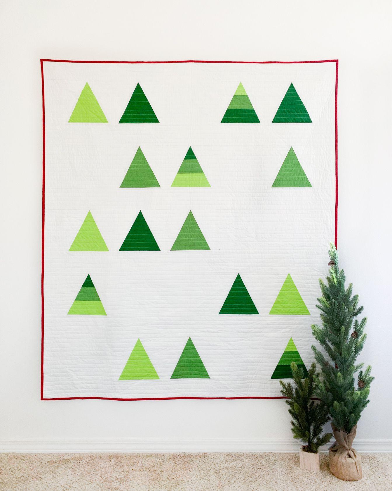 Tree Farm Pdf Pattern Cotton And Joy Farm Quilt Patterns Farm Quilt Spring Quilts