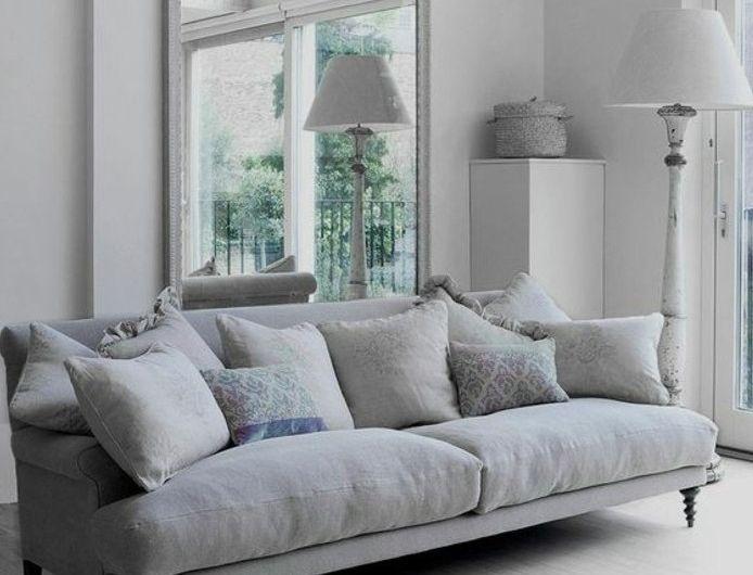 admirable salon gris et blanc couleur peinture salon blanc canape gris vintage ambiance paisible