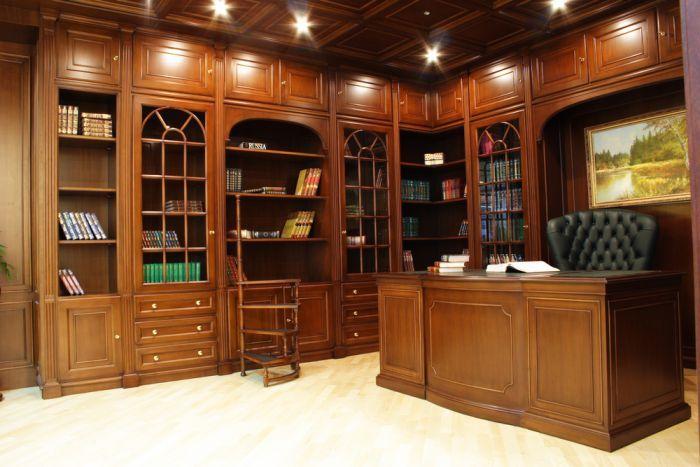 Attorney S Office Interior Design Idea In Traditional Home