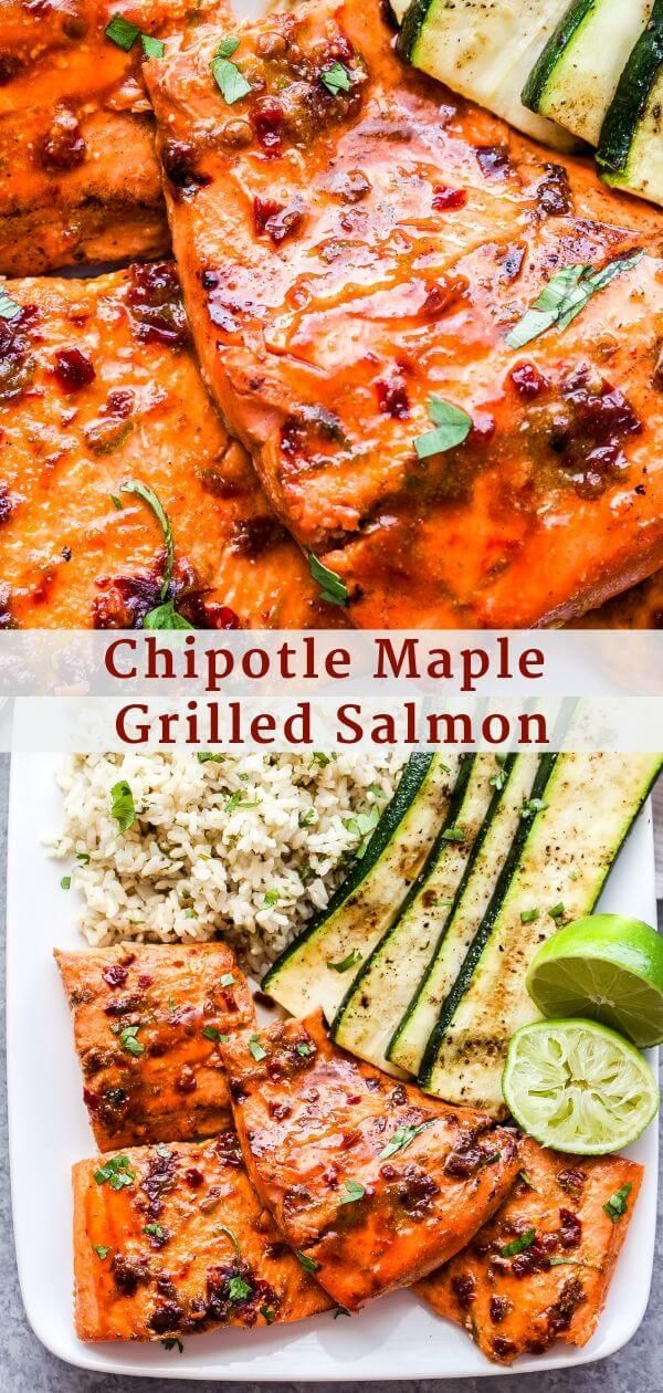 Photo of Chipotle Maple Grilled Salmon