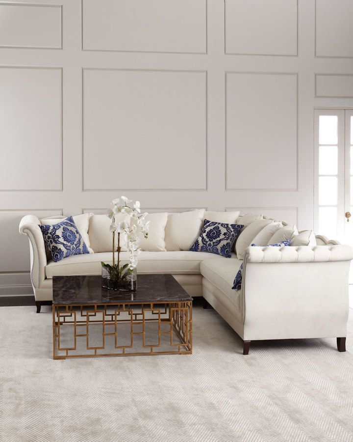 Haute House Gigi Sectional Sofa   Stunning Sofa Available Here! Handcrafted  Sectional Sofa, Alder