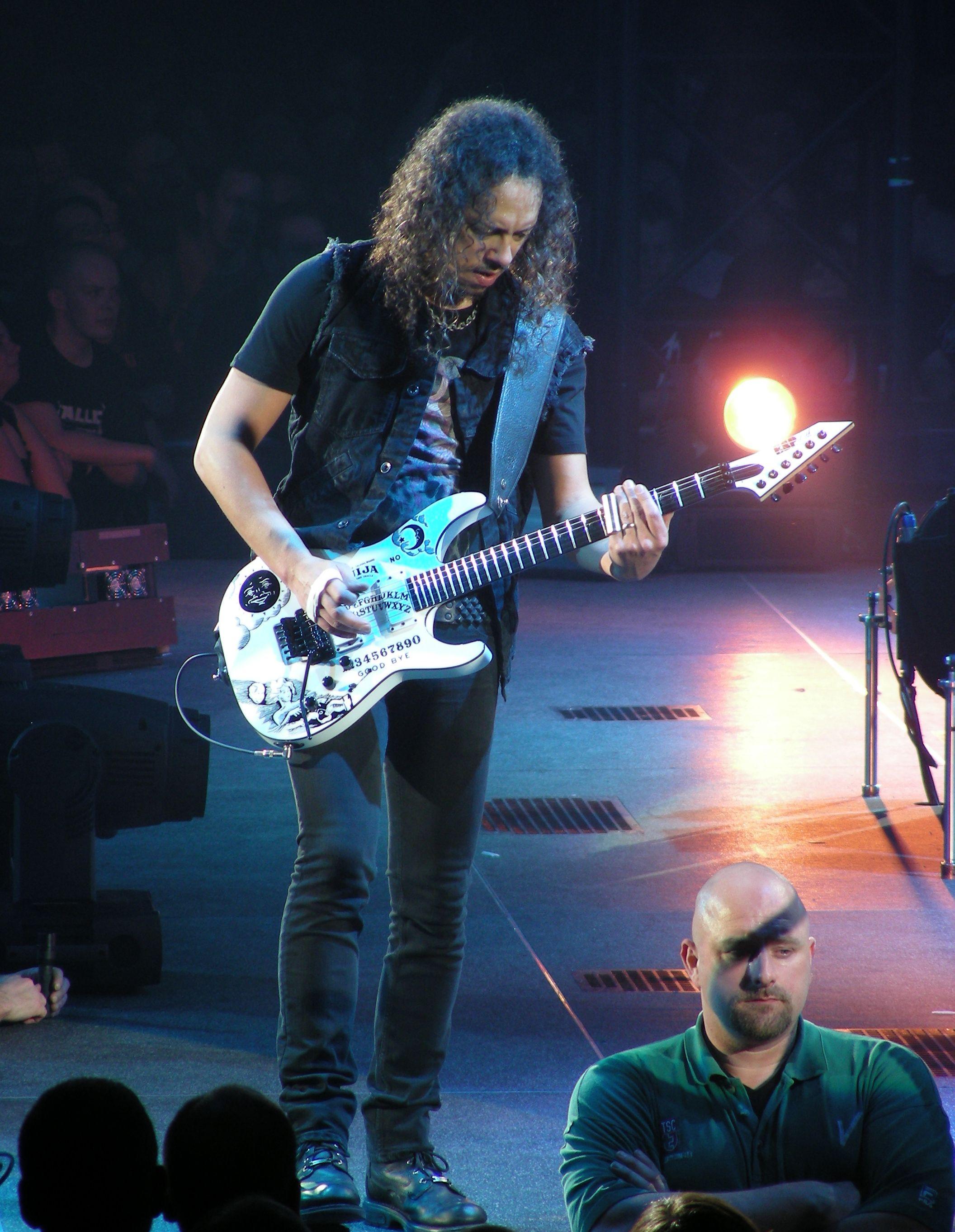 Master Puppets Kirk Hammett Metallica