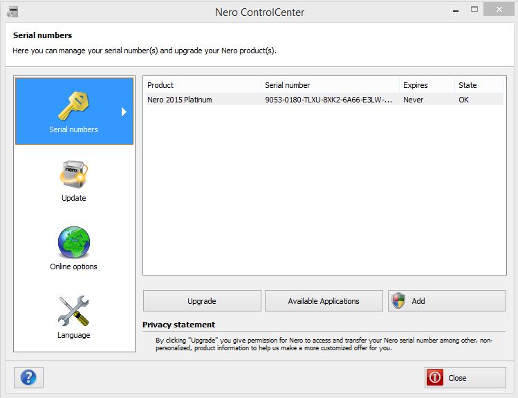 Nero 2015 Platinum 16 0 Crack updated With Serial Keygen