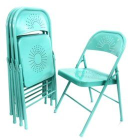 Teal Folding Chairs At Sam S Club Amazing Price Folding Chair
