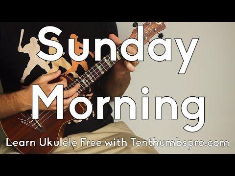 Sunday Morning - Maroon 5 - Ukulele Tutorial - Super Easy Beginner ...