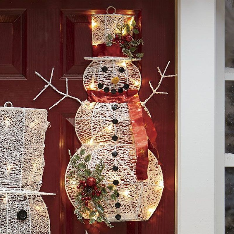 Welcome friends and family to your home with a sentry or two of snowmen. Strategically position several along front walkway one near mailbox at Create Winter Wonderland With Snowman Decorations | Festive Decor