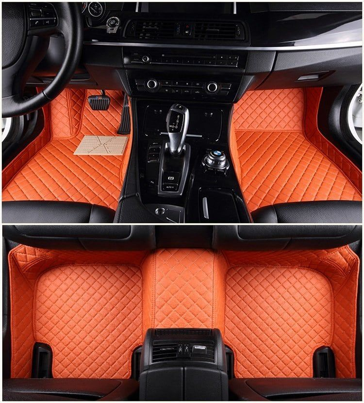 FloorEdge™ Custom Car Floor Mats Diamond Stitching in