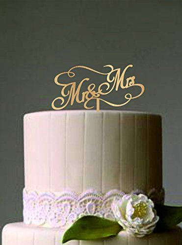 Rustic Wedding Cake Topper Mr And Mrs Wedding Cake Topper - Mikasa Wedding Cake Topper