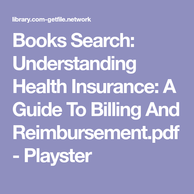 books search understanding health insurance a guide to billing and