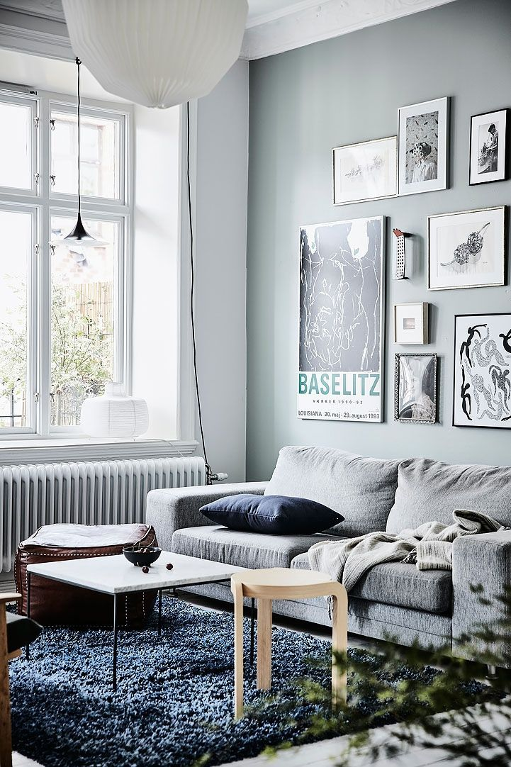Attraktiv Living Room : Crisp Home With Painted Walls Via Cocolapinedesign.com