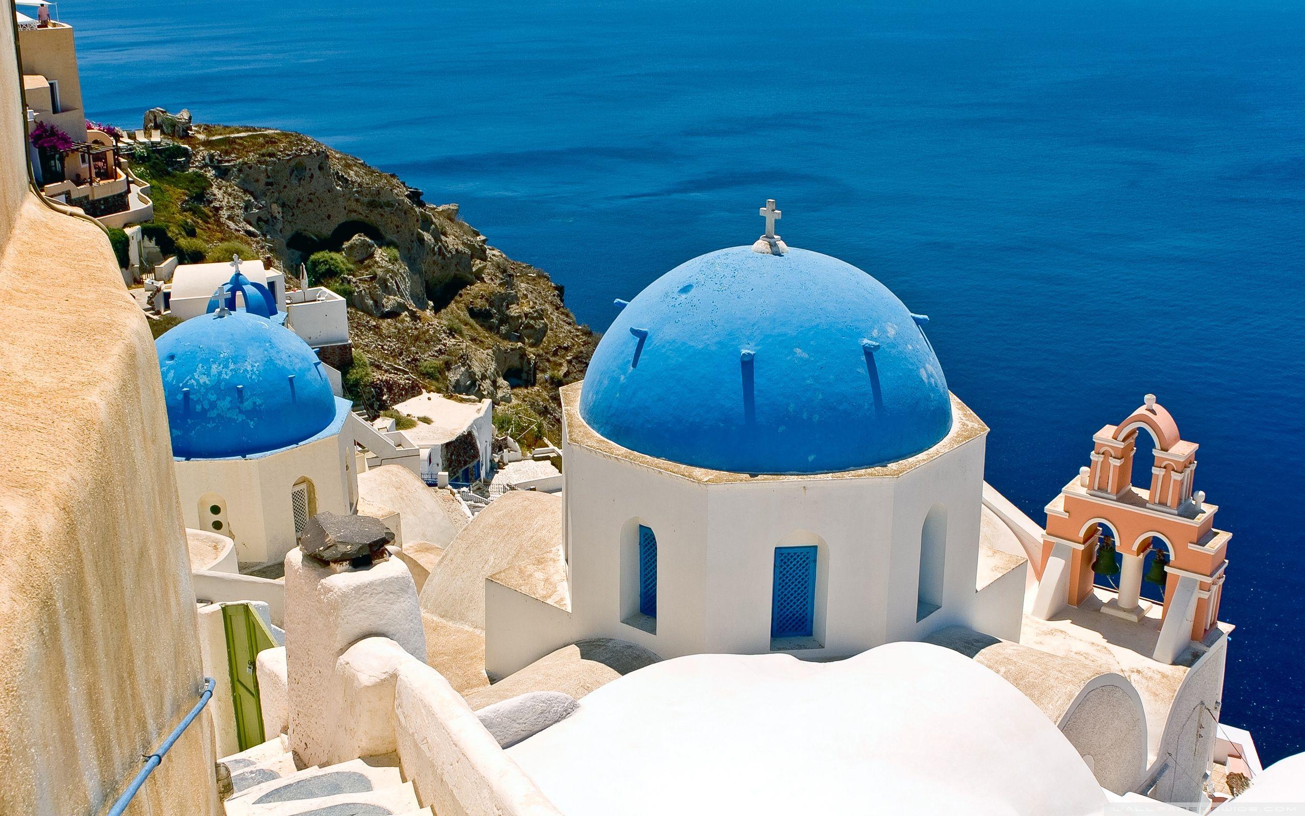 Greek Wallpaper Pretty Things Pinterest Hd Desktop And Wallpaper - Greece travel packages
