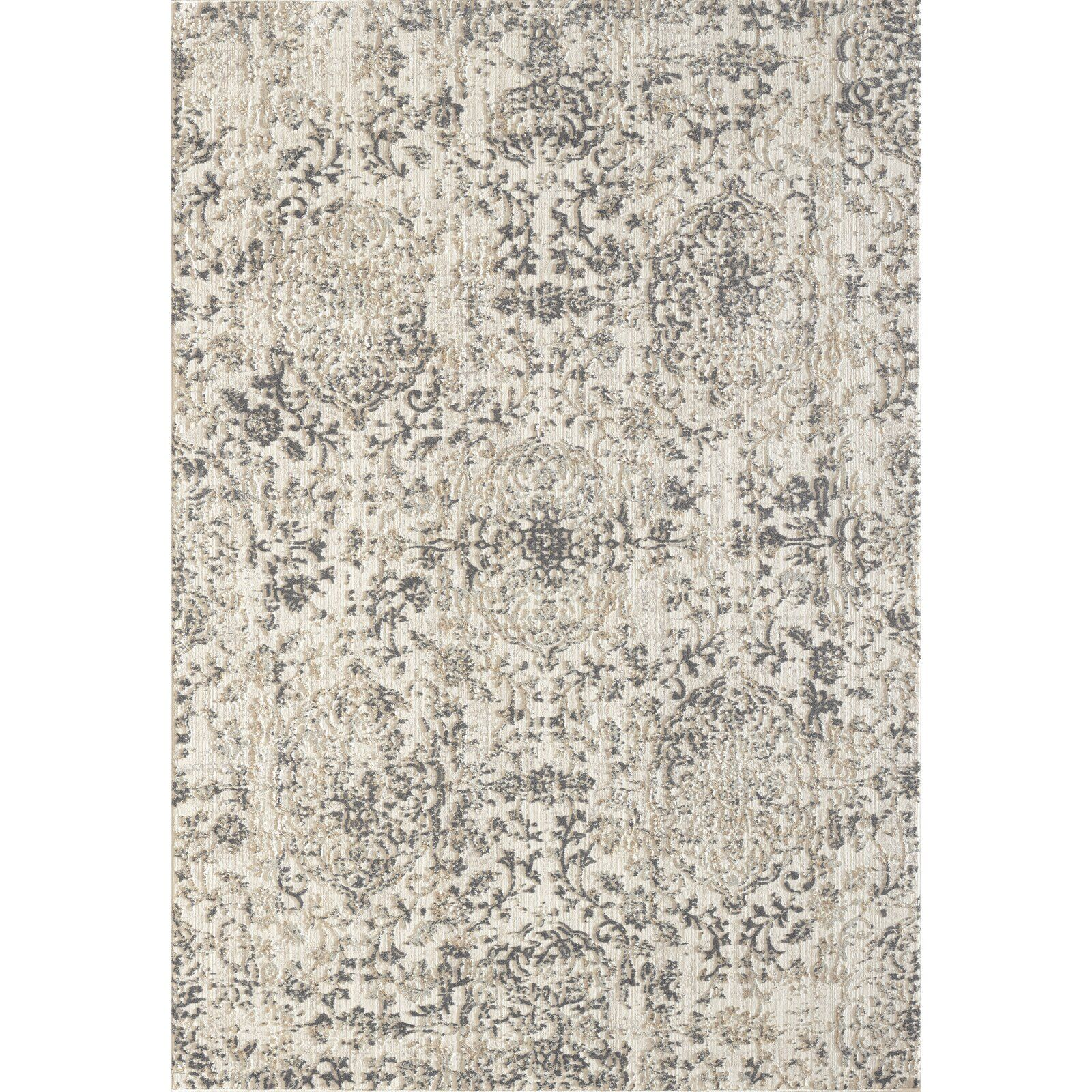 Bullis Floral Beige Area Rug In 2020 Dynamic Rugs Beige Area
