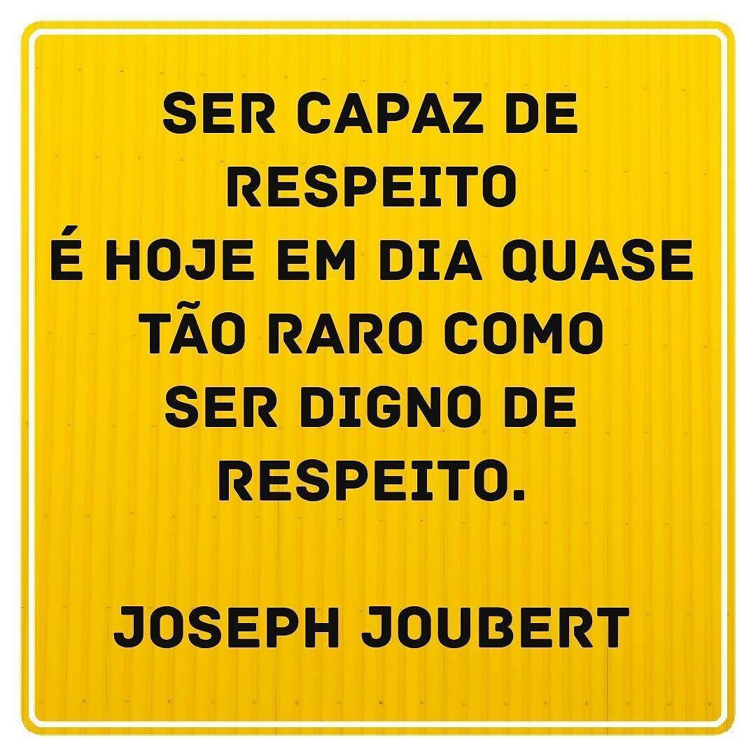 Se as pessoas soubessem o significado da palavra RESPEITO talvez até os governantes usariam para com o povo brasileiro. Bom dia AMIGOS DO MUNDO! #respeito#qualidadedevida