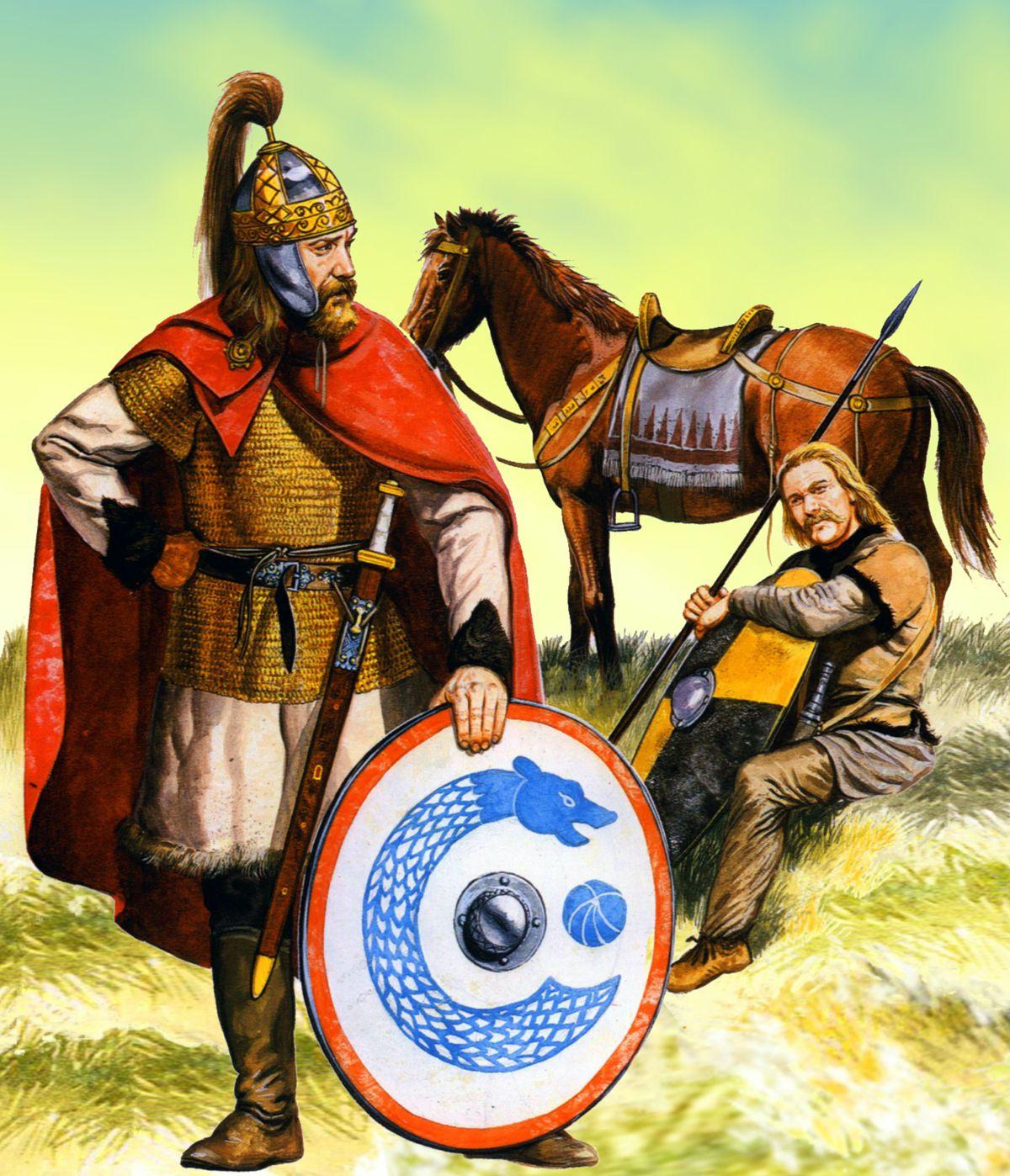 Artistic Representation Of An Almohad Elite Warrior 13th
