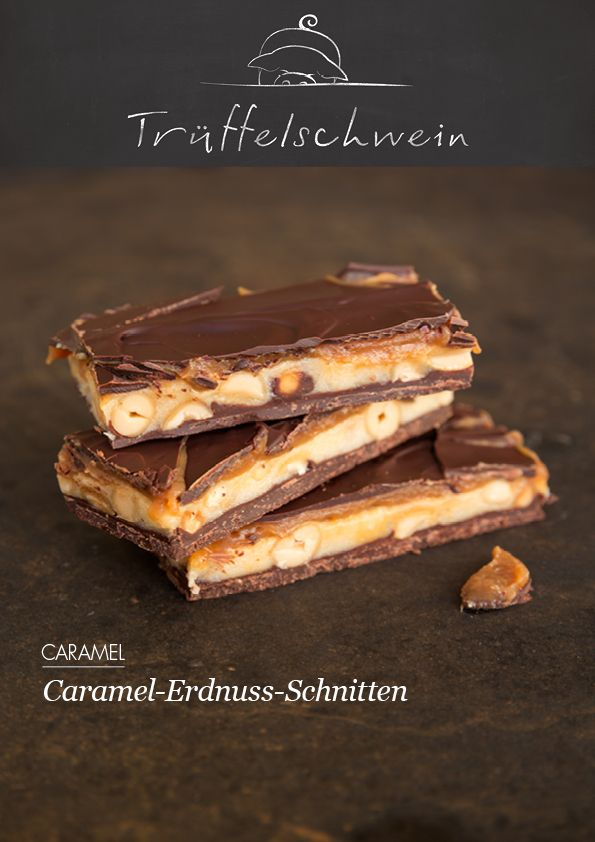 Snickers selber machen! Caramel-Erdnuss-Schnitten ...