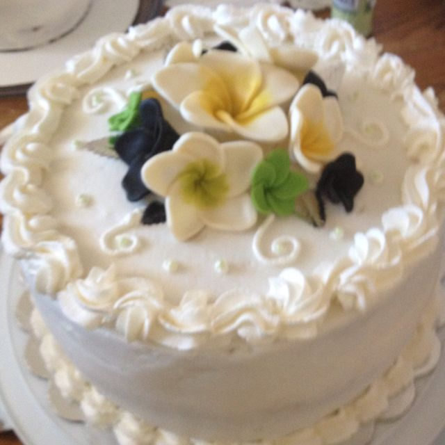 Part of the wedding cake I made