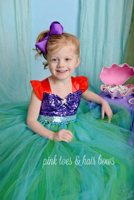 The Little Mermaid Tutu Dress The Little Mermaid Dress