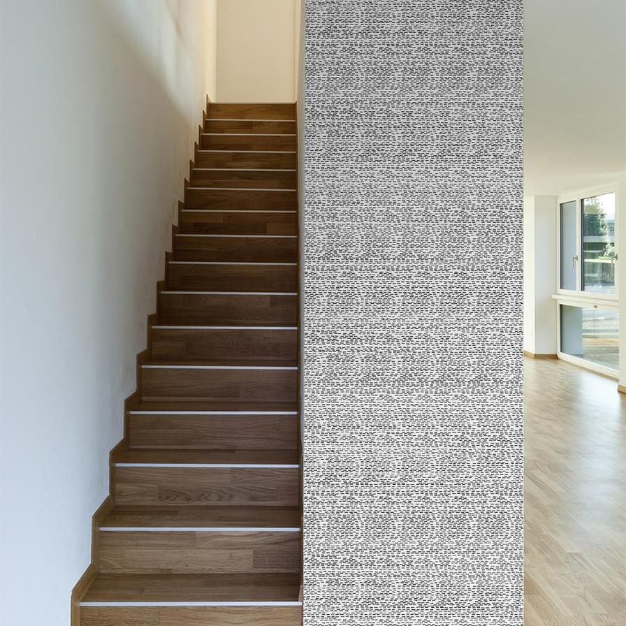 Black Stripes Stripe removable wallpaper, Removable