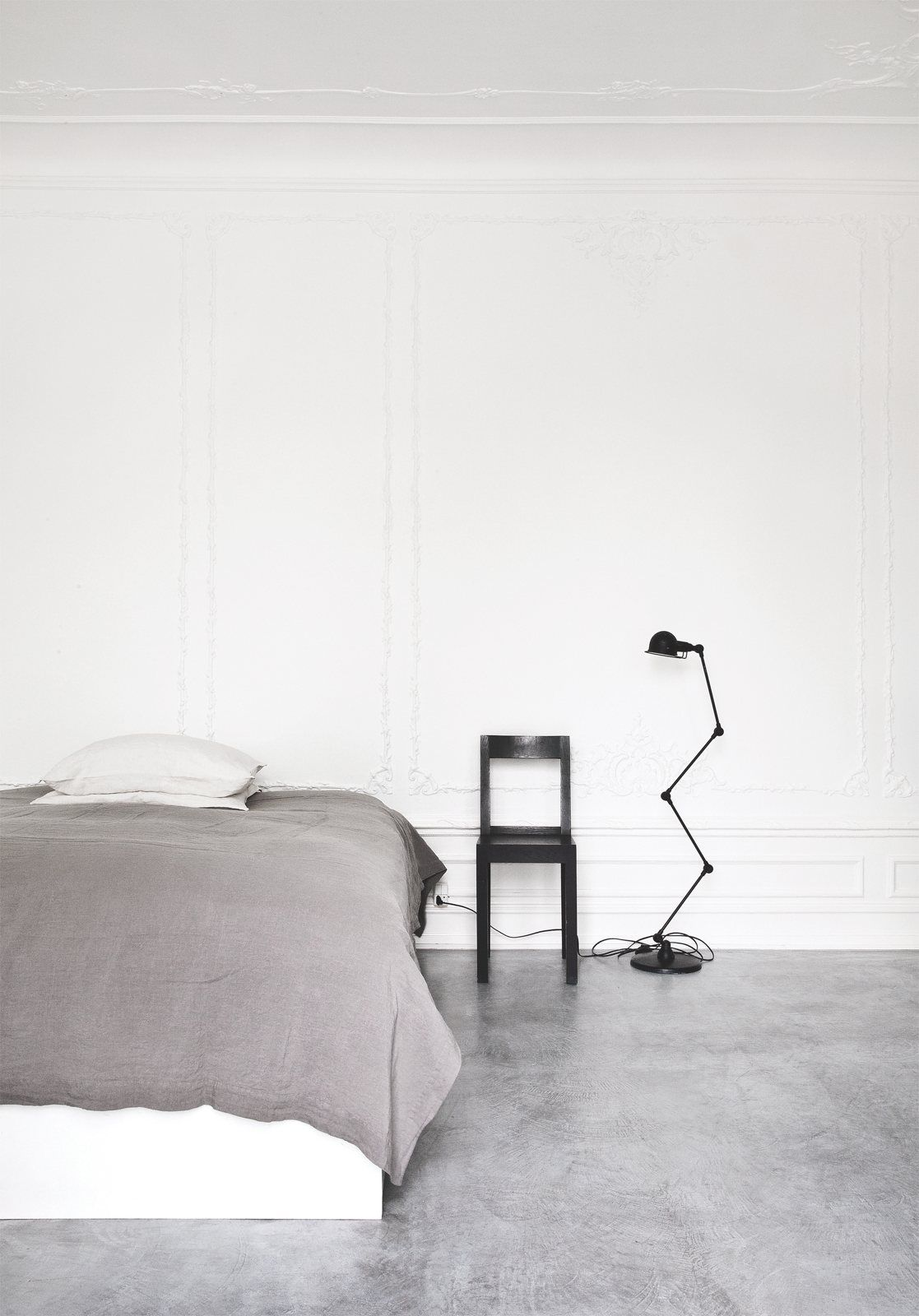 Minimalist Black And White Interior Decor By Norm