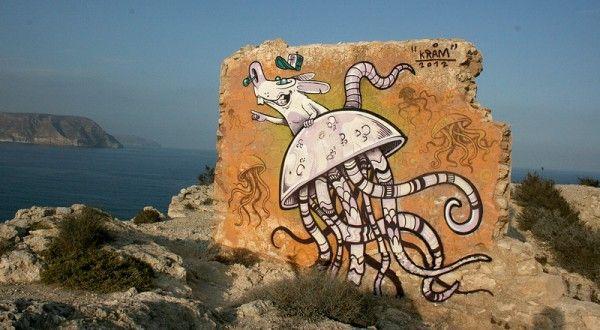 Le street-art de KRAM !