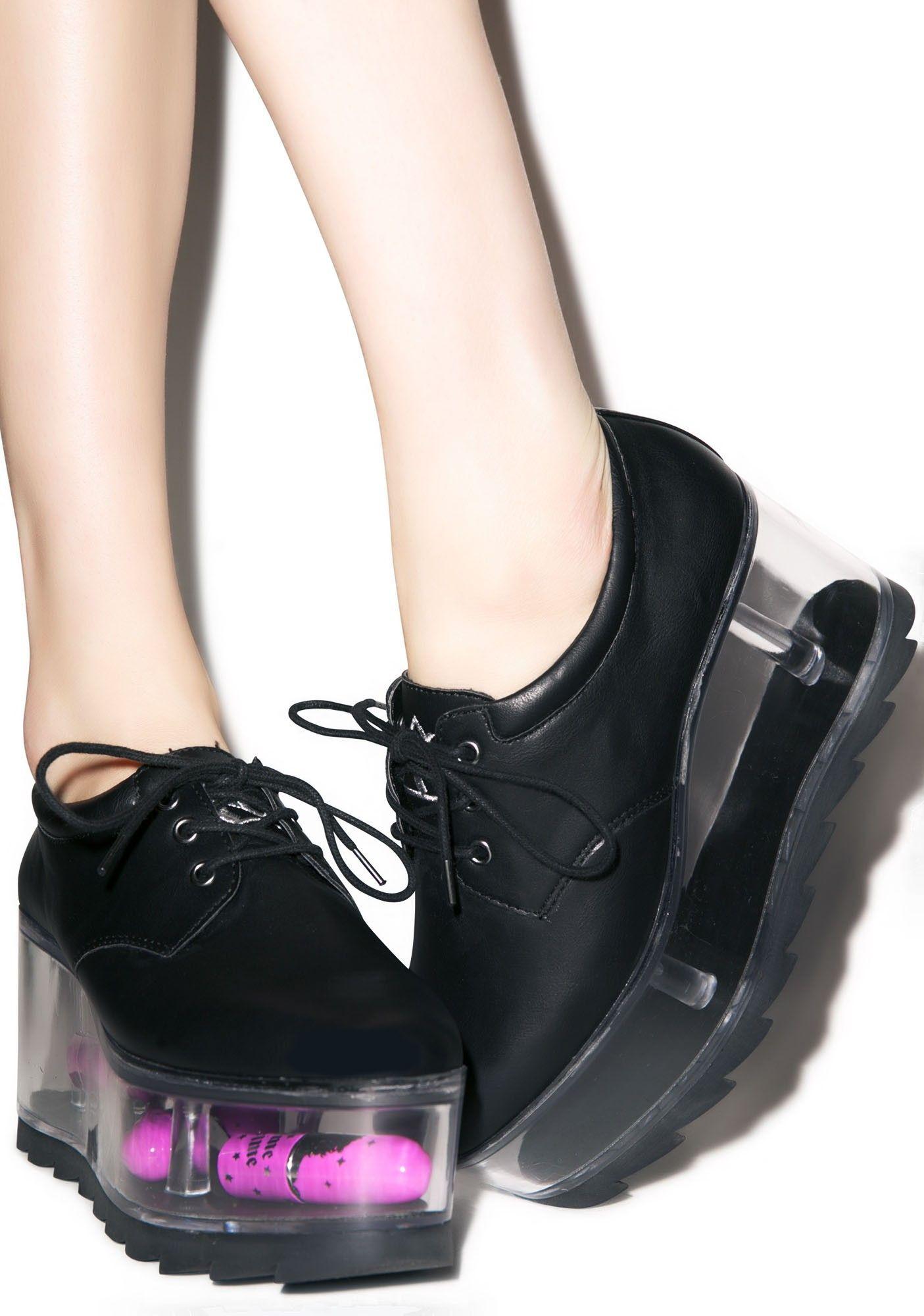 Qloud 2091 | Goth platform shoes