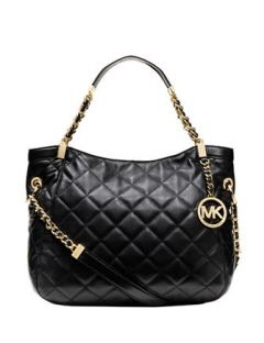 088648ae8834e MICHAEL MICHAEL KORS Susanna Quilted Leather Medium Tote Bag ...