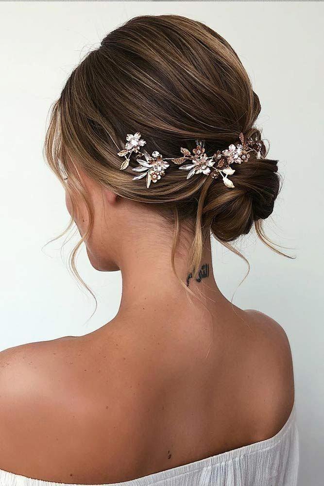 updo hairstyles with bangs Medium Lengths #beehivehairdo ...
