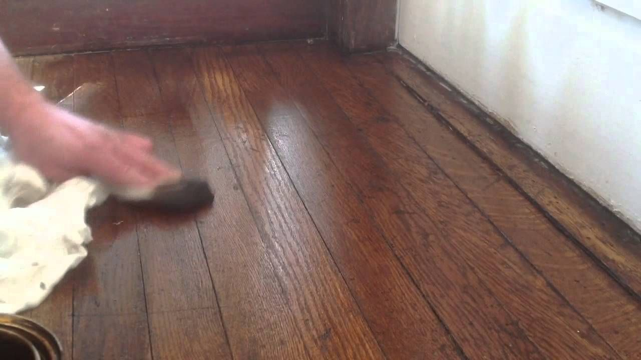 Pics Review How To Stain Hardwood Floors Without Sanding ...