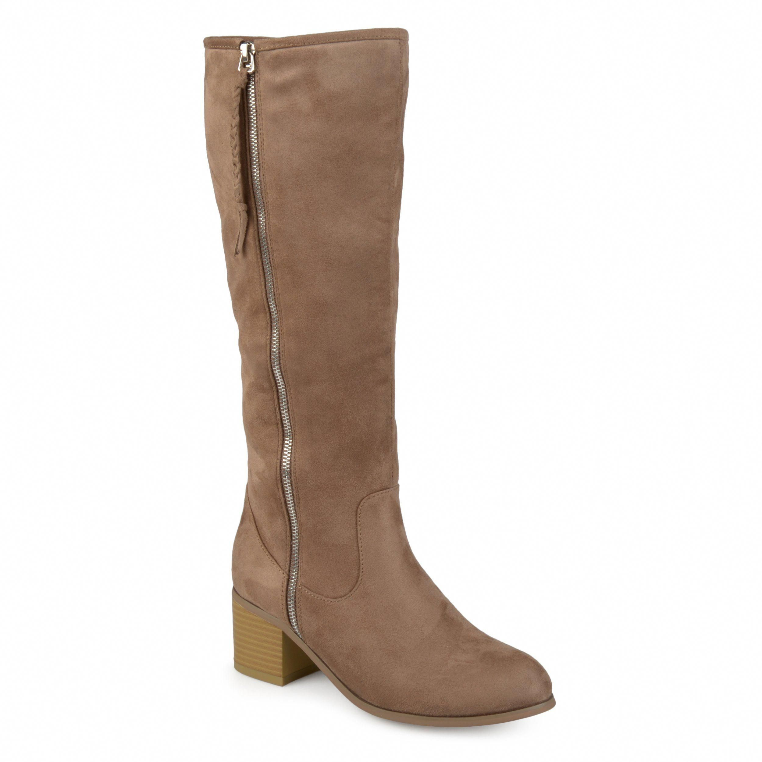 11e08ca21 Add classic style to your look in the mid-calf boot by Journee Collection. Sam  Edelman PENNY 2 Whisky Brown Leather Tall Riding Boots Womens Size ...