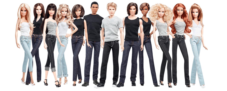 Resultado de imagem para barbie basics collection 002
