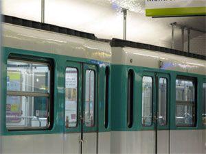 Forte pollution de l'air dans les gares souterraines RER et métro de l'Ile-de-France