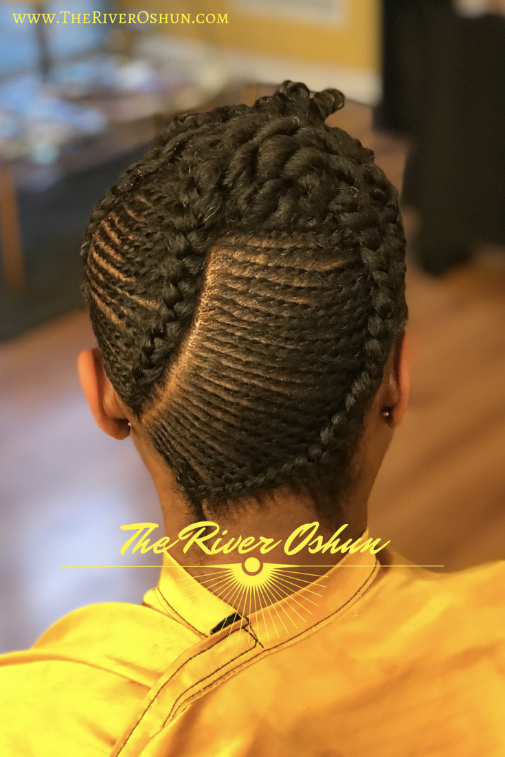 Micro Flat Twists Hair Styles Flat Twist Oshun