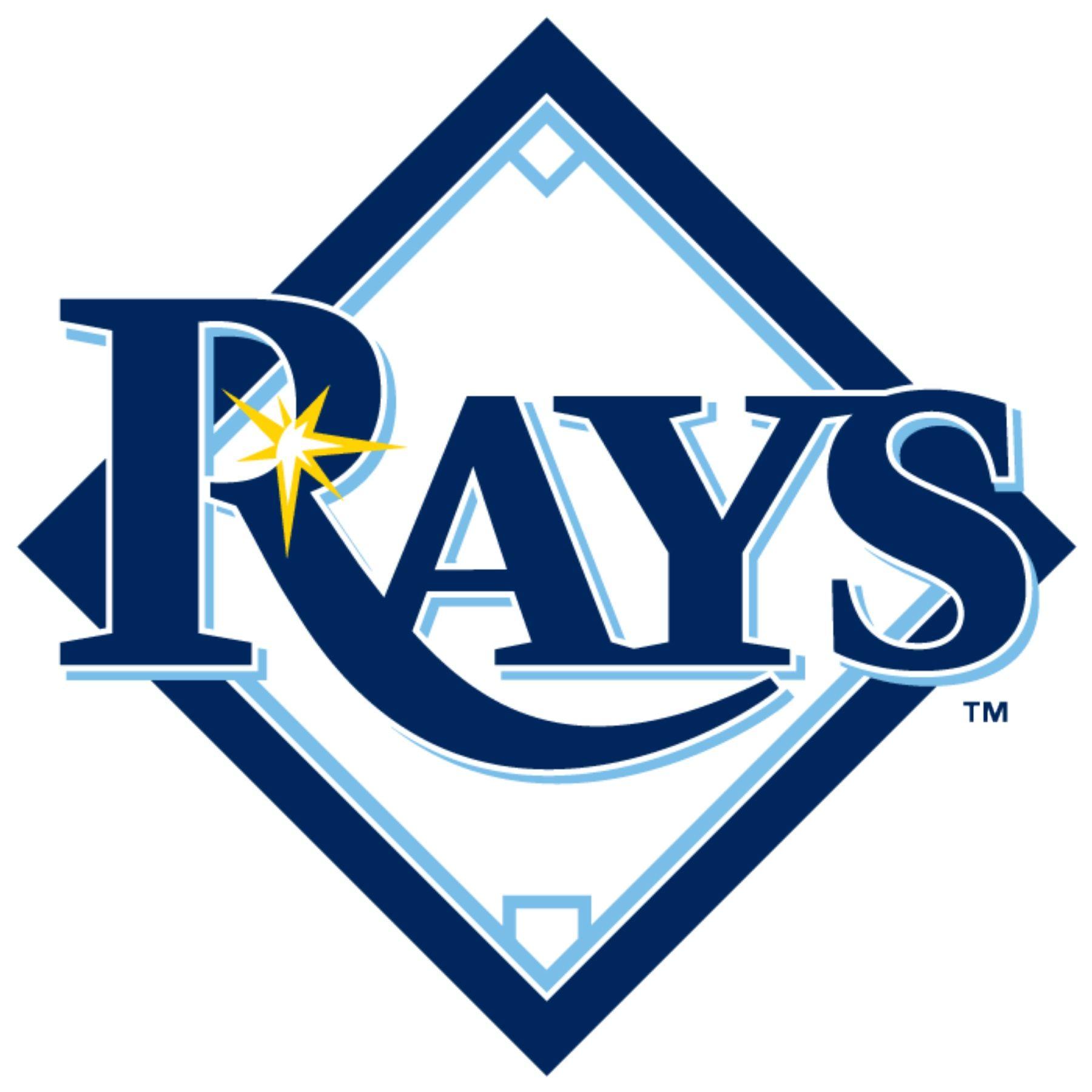 Tampa Bay Rays Logo Rays Logo Tampa Bay Rays Rays Baseball