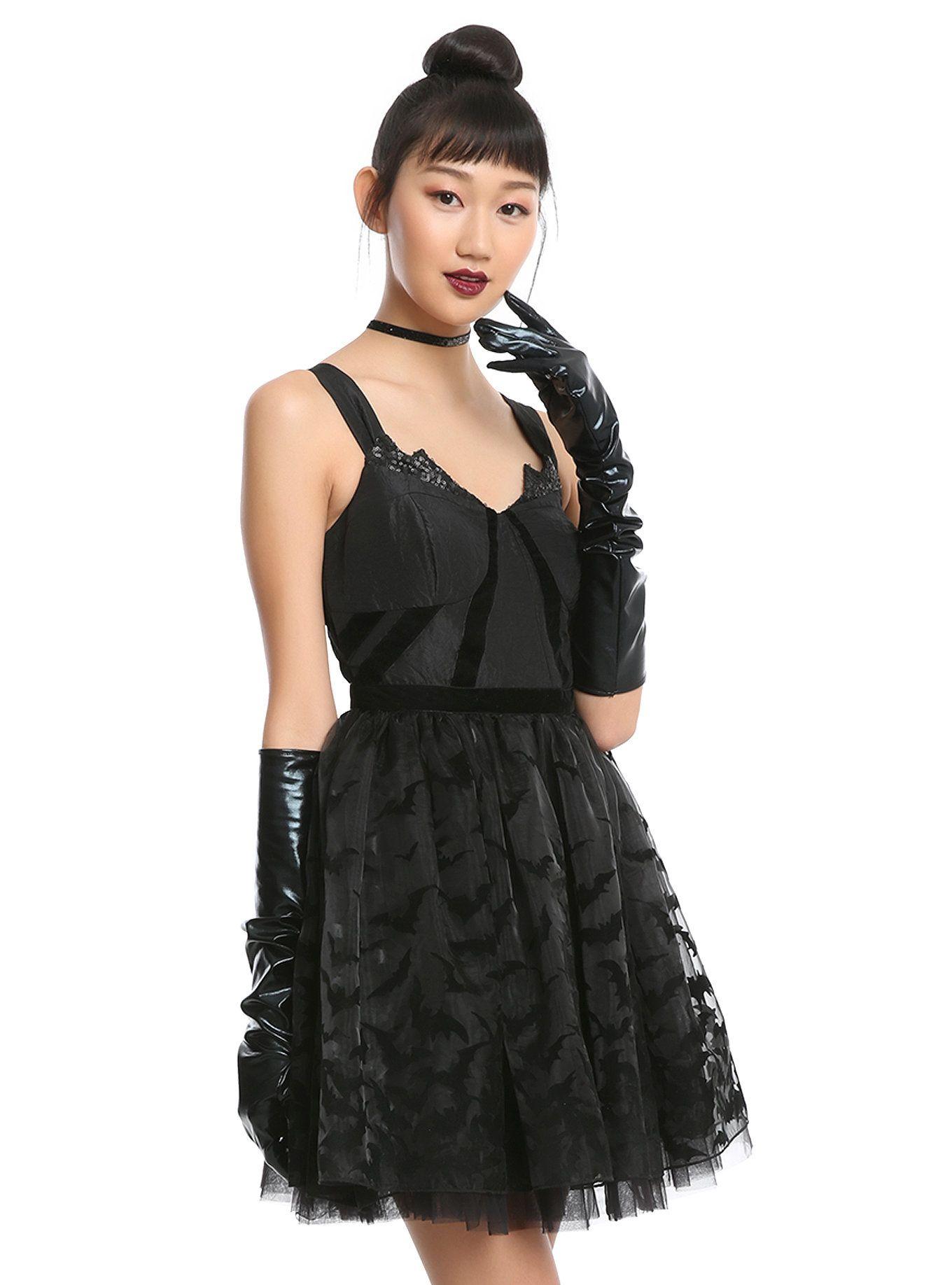 Dc comics batman formal dress hot topic dresses pinterest