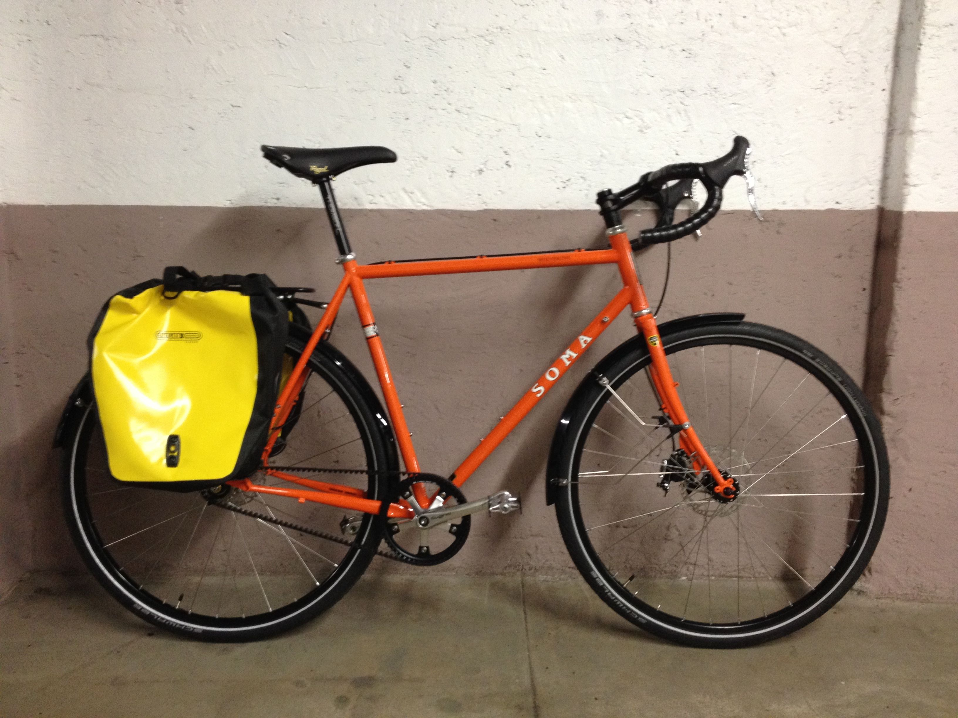 Custom Soma Wolverine with Gates carbon belt drive, Rohloff 14-speed ...