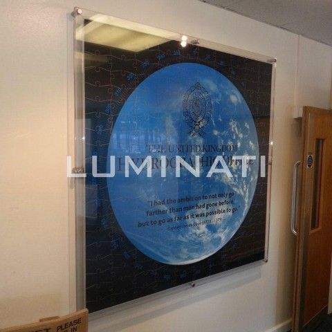 Clear Acrylic Wall Mounted Frame Supplied With Aluminium Wall Mounts Available In Many Sizes And Designed And Custom Picture Frame Photo Picture Frames Frame
