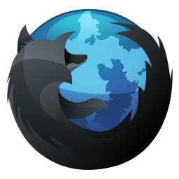 Mozilla Firefox Black And Blue Icon Png Clipart Image Iconbug Com Firefox Logo Firefox Icon