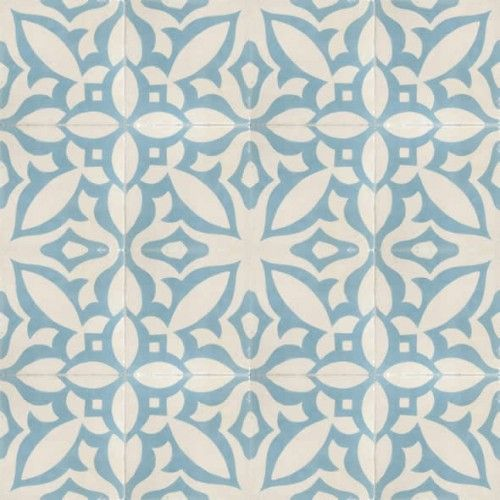 Funky Kitchen Flooring: Moroccan Encaustic Cement Pattern 15a