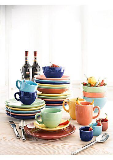 Creatable Kombiservice Steingut Top 30 Teilig Tableware Glassware Bowl