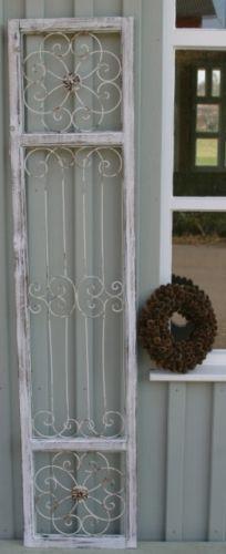 Home tuer deko fensterladen metall ornament holz vintage fenster tuer laden shabby fenster vintage - Fensterladen vintage ...