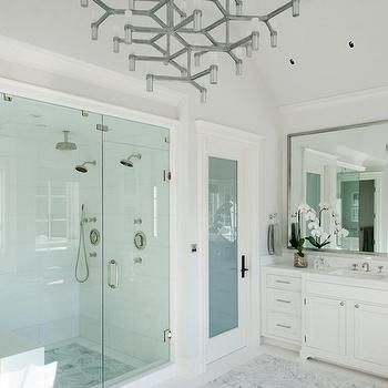 Glass Enclosed Water Closet